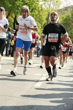 Žohar na 28. Vienna City Marathon-u