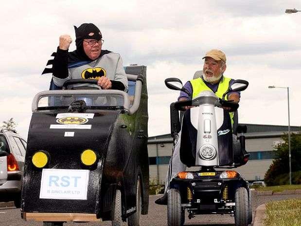 getv - Convierte su silla de ruedas en un Batmóvil