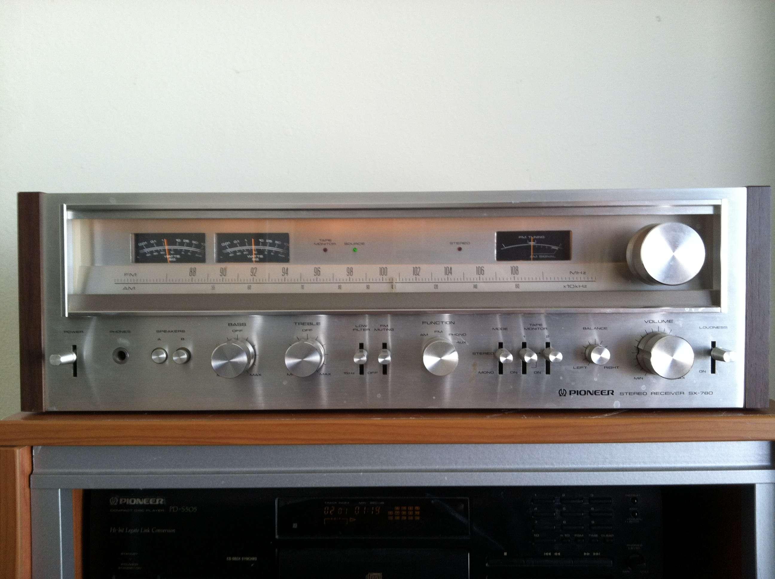 Pioneer SX-780 Receiver  Any good? | Audiokarma Home Audio
