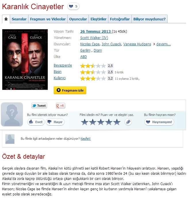 Karanlık Cinayetler - 2013 BRRip XviD AC3 - Türkçe Dublaj Tek Link indir